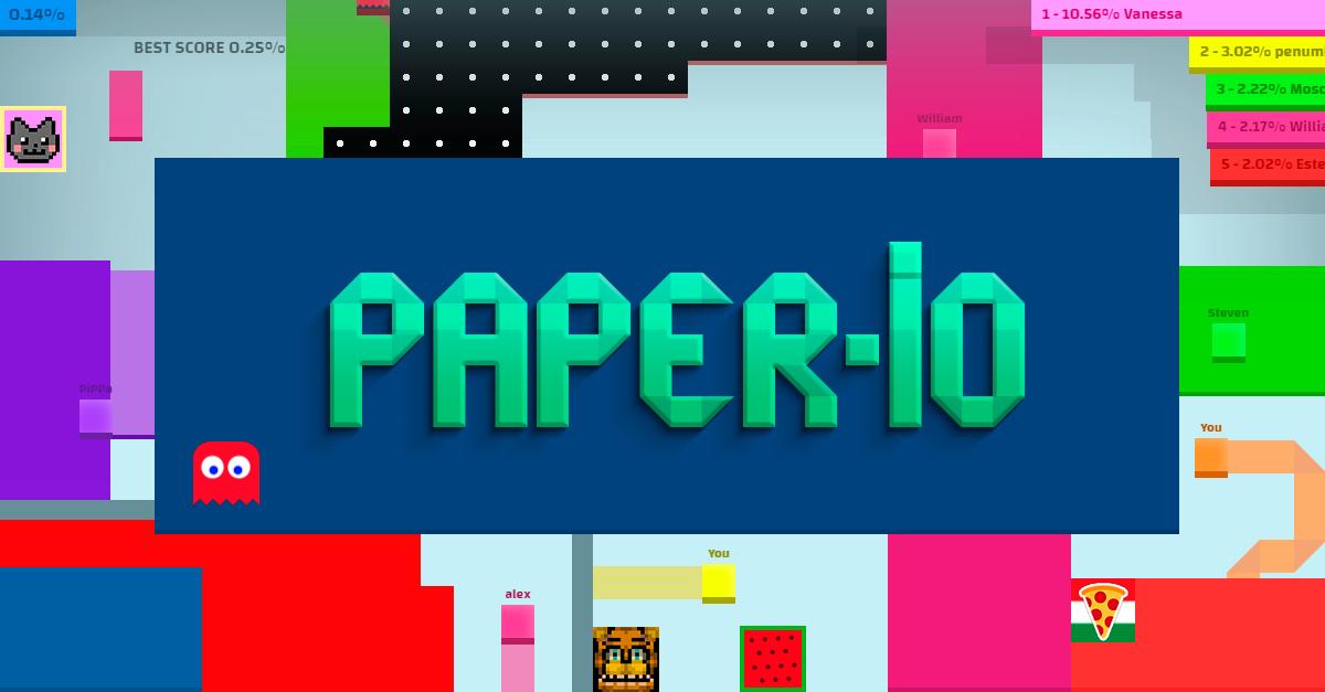 Paper Io Play Online